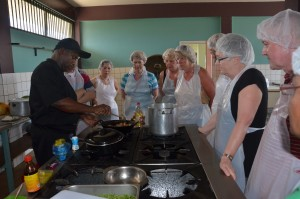Kookcursus in Suriname