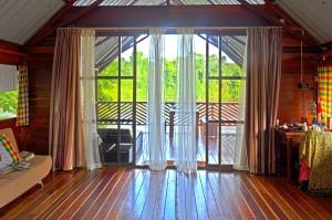 Danpaati luxe cabin binnen