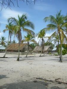 Galibi - dorp - strand