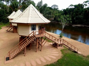 Kabalebo nature resort - River Cabin