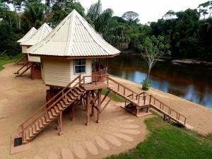 Kabalebo nature resort - River Cabin