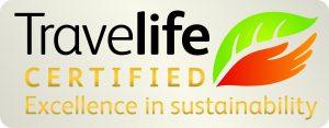 Travelife certified logo