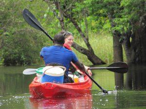 kayak tour paramaribo