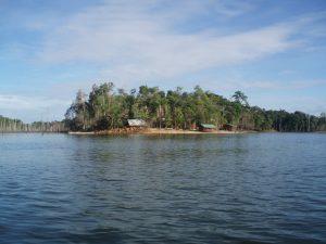 Ston Island uitzicht